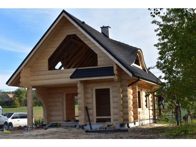 Dom z bali OSO STAŃCO - MAŁY 6,5x9 m