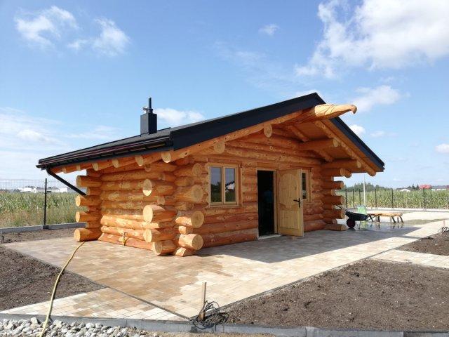 Dom z bali JUKON NA ZGŁOSZENIE 7x4 m