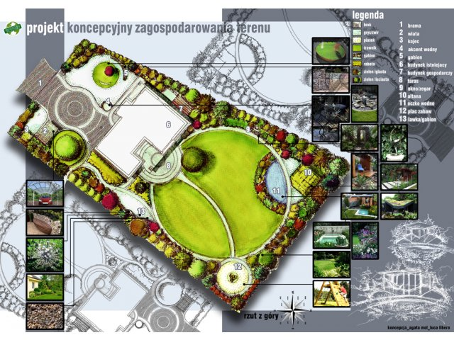 Projektowanie ogrodów, projekt ogrodu, ogrody