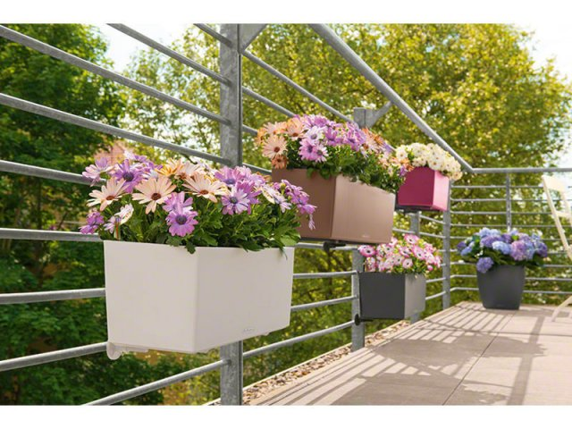 donice balkonowe Lechuza
