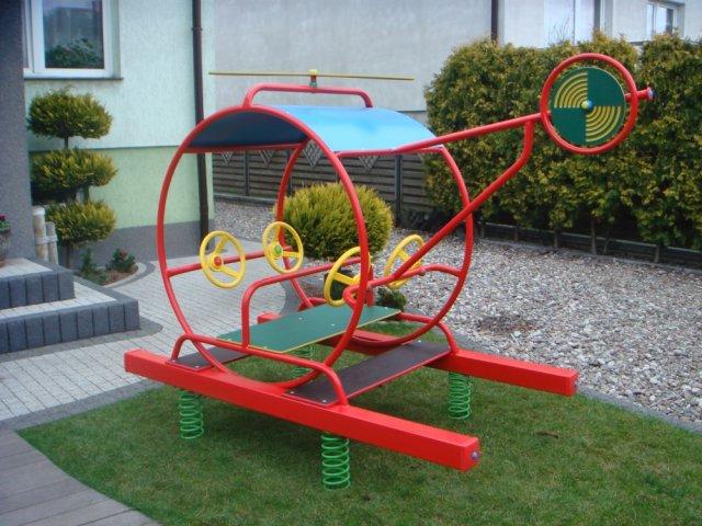 Place zabaw - Bujak ogrodowy pojedynczy - HELIKOPTER