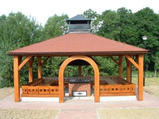 Altany drewniane (ogrodowe) - GRILLOWNIA