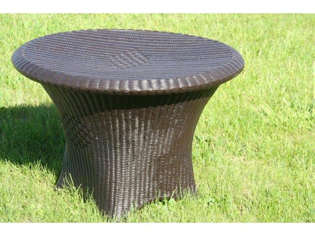 Okrągły stół ogrodowy PLAST
