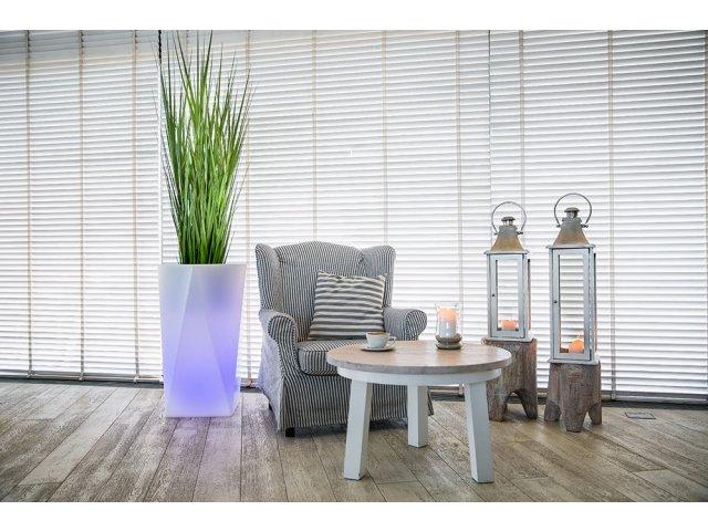 Donica podświetlana Nevis 90 cm LED/RGB + DOSTAWA 16ZŁ