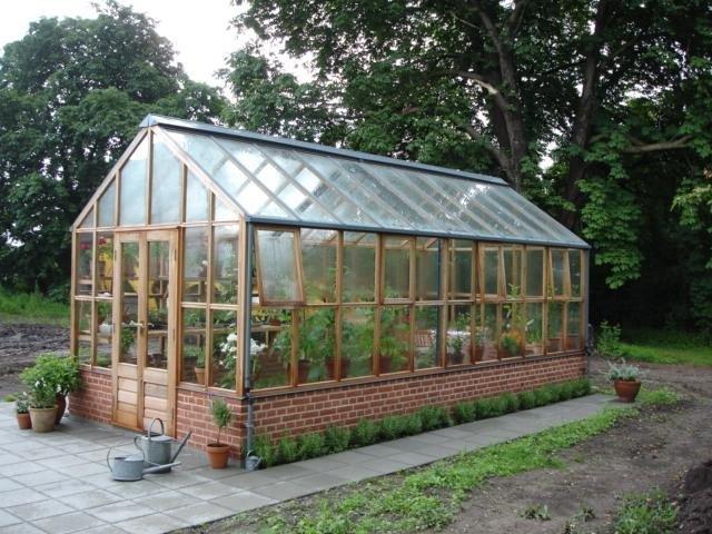 Szklarnia drewniana Planthouse Ten