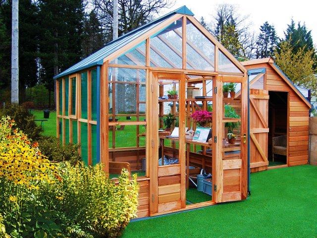 Cedar Panelled Planthouse
