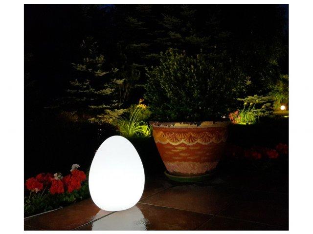 Lampa dekoracyjna LED Jajo RGB 30cmx42cm