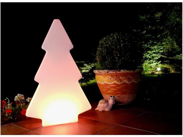 Lampa dekoracyjna LED Duża choinka RBG 50cmx15cmx84cm