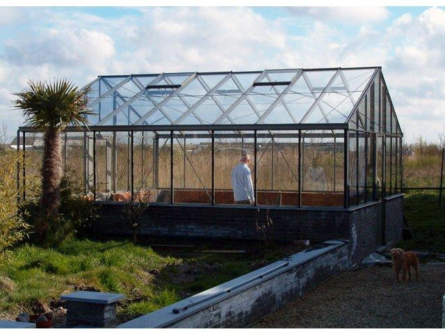 Szklarnia ogrodowa Euro PW od 380 x 309 cm do 457 x 830 cm