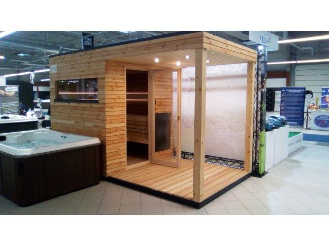 Gotowa sauna zewnętrzna