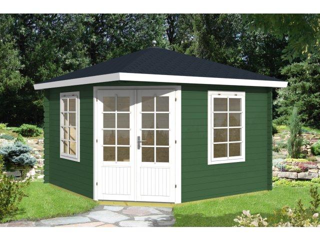 Domek drewniany pięciokątny Hubert 10,4 m2