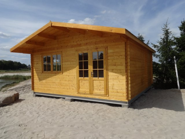 Domek letniskowy parterowy Marysia 6x6 - Domek nad Jeziorem