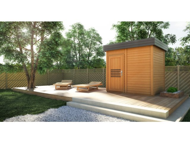 Sauna ogrodowa PR