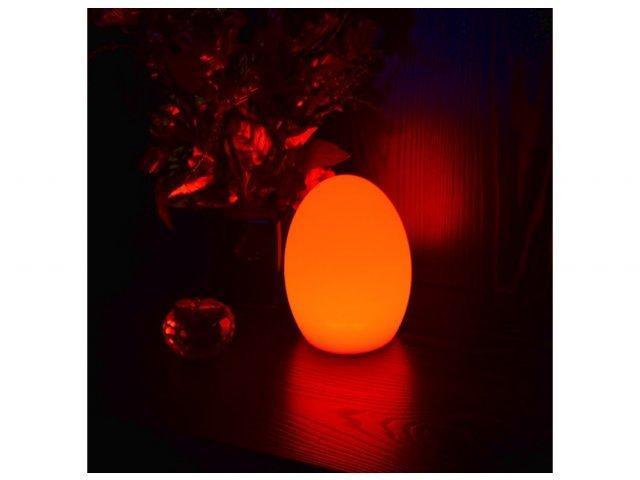 Lampa dekoracyjna LED Jajo RGB 15cmx21cm