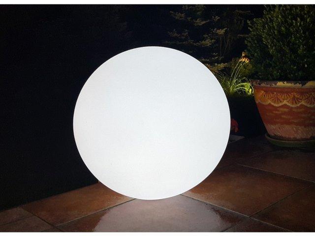 Lampa dekoracyjna LED Kula RGB 35cm