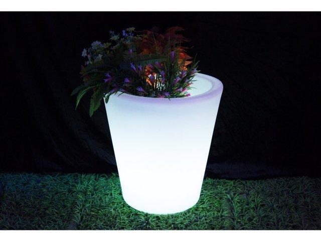 Donica podświetlana 40 cm RGB