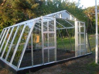 Szklarnie ogrodowe aluminiowe-  Sklep Gardenplanet