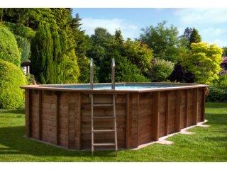 Drewniane baseny ogrodowe