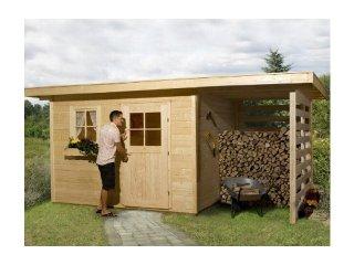 Architektura ogrodowa - Domki narzędziowe, wiaty garażowe