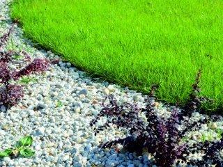 Obrzeża ogrodowe - trawnik, bruki