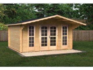 Małe domki drewniane